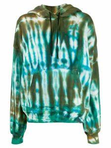 AMIRI tie-dye oversized hoodie - Green