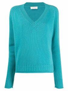 Société Anonyme Leen chevron knit jumper - Green