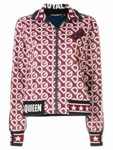 Dolce & Gabbana DG logo zipped sweatshirt - Hr92a Dg Mania F.Bordeaux