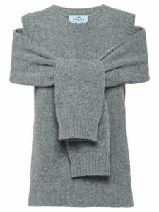 Prada wool and cashmere jumper - Grey