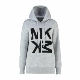 MICHAEL Michael Kors Graphic Logo Wool-blend Hoodie