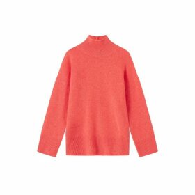 Jigsaw Cashmere Slouchy Turtle Jumper