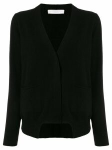 Fabiana Filippi asymmetric knit cardigan - Black