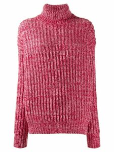 Plan C chunky knit jumper - Red