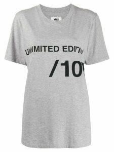 Mm6 Maison Margiela Unlimited Edition T-shirt - Grey