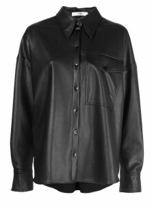 Tibi relaxed utility shirt - Black