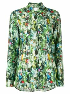 Ultràchic all-over print shirt - Green