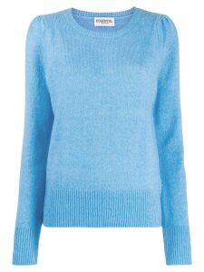 Essentiel Antwerp Tremal puffed-shoulder jumper - Blue