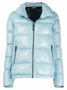 Colmar lacquered-effect puffer jacket - Blue