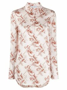 Paco Rabanne floral-print shirt - PINK