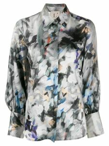 L'Autre Chose Painterly shirt - Green