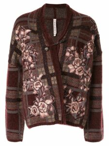 Antonio Marras floral-embroidered cardigan