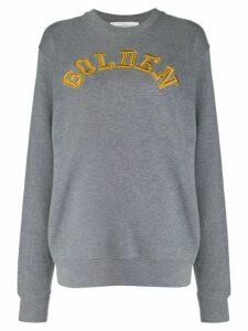 Golden Goose embroidered sweatshirt - Grey