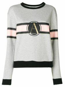 Emporio Armani logo print sweatshirt - Grey