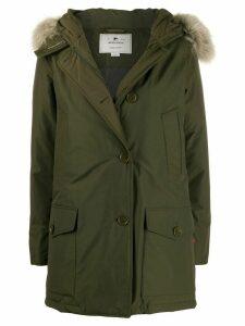 Woolrich Arctic down parka coat - Green