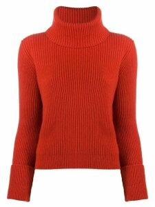 Alyki roll neck jumper - Red