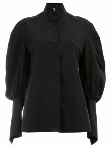 Aganovich puff sleeve shirt - Black