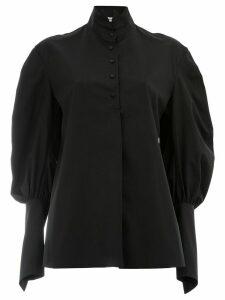 Aganovich puff sleeve shirt - Black