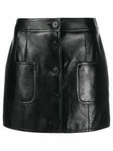 Givenchy buttoned-up short skirt - Black