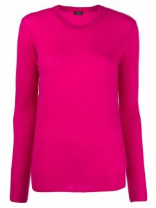 Joseph crew neck knitted jumper - PINK