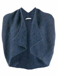 Société Anonyme WarmyXIX shawl cardigan - Blue