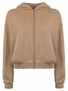 Yeezy boxy hoodie - Brown