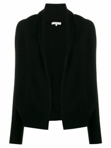 Vince cashmere shawl collar jumper - Black