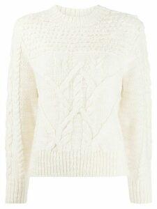 Isabel Marant Étoile Ryder crewneck sweater - NEUTRALS