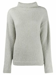 Our Legacy ribbed knit rollneck jumper - Grey