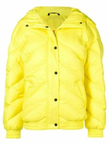 Perfect Moment buttoned puffer jacket - Yellow
