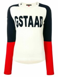 Perfect Moment Gstaad jumper - White