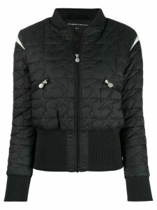 Perfect Moment Glacier star puffer jacket - Black