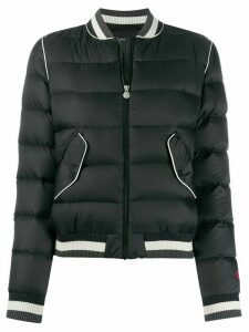 Perfect Moment quilted bomber jacket - Black