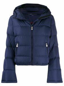 Perfect Moment Polar Flare padded jacket - Blue