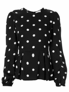Rebecca Vallance Penelope polka-dot blouse - Black
