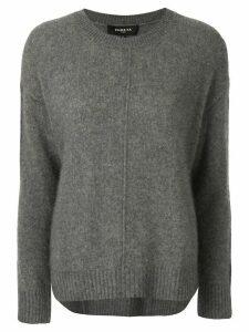 Paule Ka front seam jumper - Grey