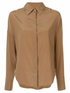 Lorena Antoniazzi boxy fit shirt - Brown