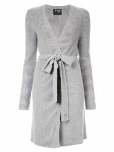 Markus Lupfer ribbed cardigan - Grey