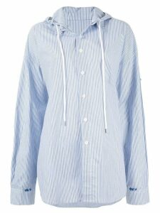 Ader Error oversized fit shirt - Blue