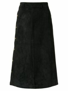 Holiday Tahe straight skirt - Black