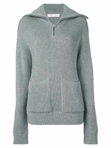 Proenza Schouler White Label chunky rib knit jumper - Grey