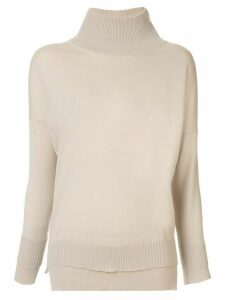 Lorena Antoniazzi roll neck jumper - NEUTRALS
