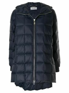 LU MEI quilted padded coat - Blue