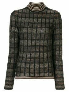 Antonio Marras turtle neck sweater - Black