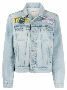 Fiorucci Nico NY Patches Jacket - Blue