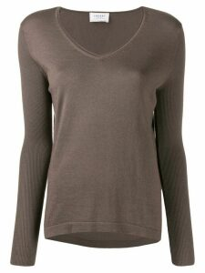 Snobby Sheep V-neck jumper - Grey