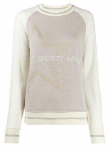 Lorena Antoniazzi Crewneck sweatshirt - White