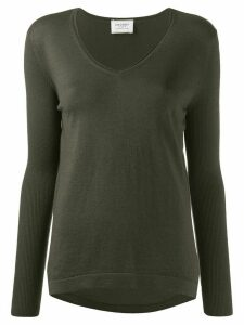 Snobby Sheep V-neck jumper - Green