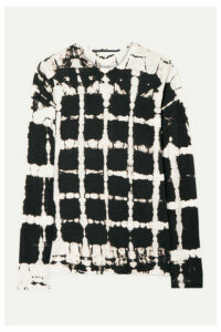 Proenza Schouler - Tie-dyed Cotton-jersey Top - Black