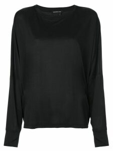 Koral Beat long sleeve top - Black